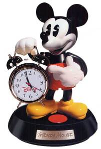 Tell Your Mickey Mouse Broker to Get an Alarm Clock