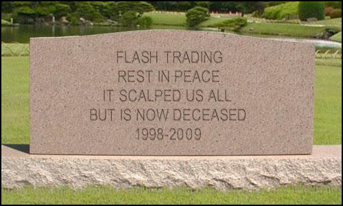 Flash Trading