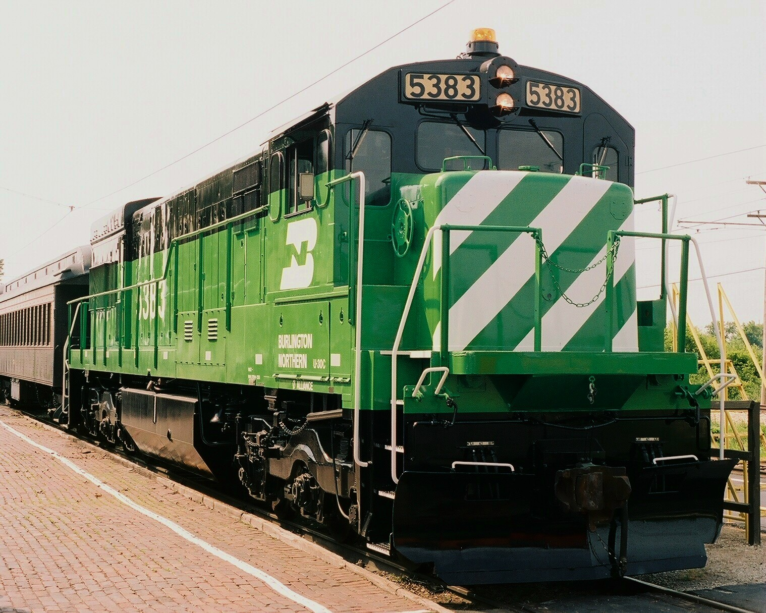 burlington northern railroad santa fe This is an interactive system map of the burlington northern santa fe (bnsf) railway, a class i rail carrier along the western half of the united states.
